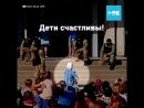На детском празднике в Запорожской области малышам в красках показали, как перерезать горло. Нормально вообще?