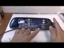 Зеркало видеорегистратор Car DVRs Mirror держатель для телефона Smartmount Car в подарок