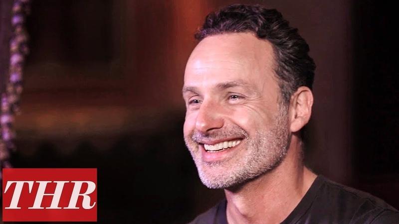 Andrew Lincoln's Last 'The Walking Dead' Scene Had Norman Reedus Tickling His Feet | THR
