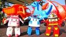 Vidéo en français pour enfants de Robocars aire de jeux