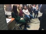 МК вечерний макияж и локоны в студии Ксении Литвиновой. Намгогодагода