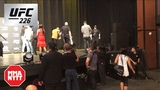 Cormier Hobbles Off Stage Following Fall After UFC 226 Press Conference