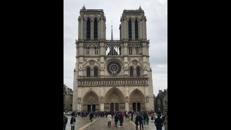Звон колоколов Собора Парижской Богоматери