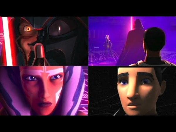 Darth Vader vs Ahsoka Time Loop