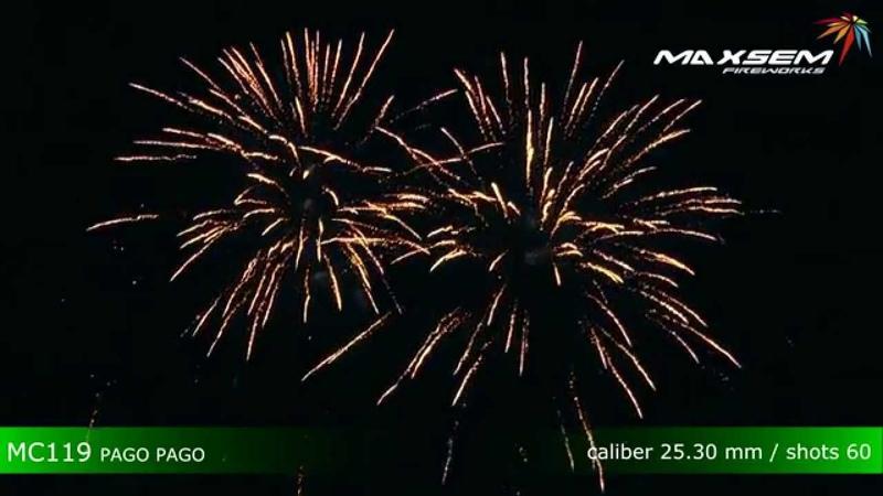 Maxsem Fireworks MC119 PAGO PAGO
