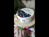 торт со звёздами