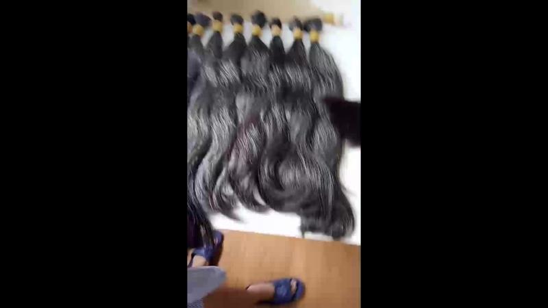 Gray and virgin hair