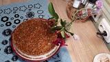 Творог и мягкая карамель- десерт без выпечки