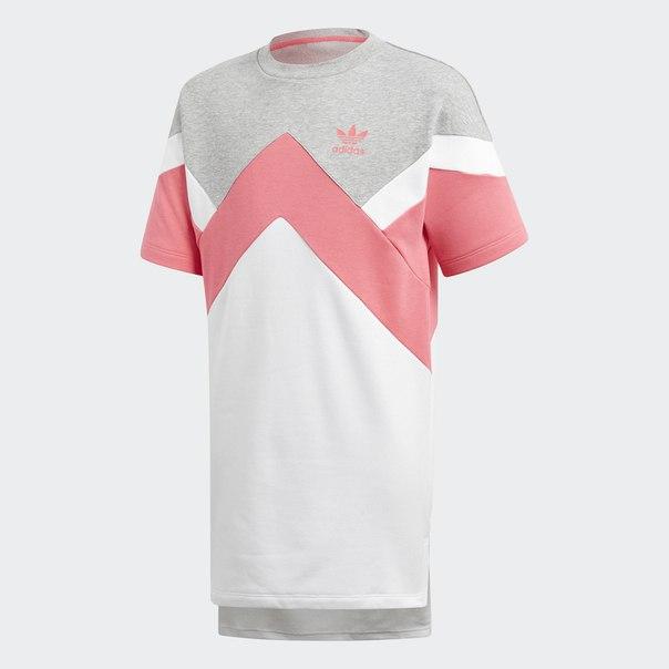 Платье-футболка French Terry