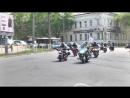 Пробег Байкеров Города Сразу в честь двух акций мото донор и осторожно мотоциклист