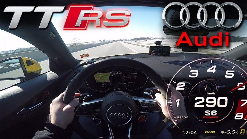2018 Audi TT RS (0-290 km/h)