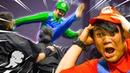 HITBOX: Mario And The Spaghetti Ninjas (NEW SERIES)