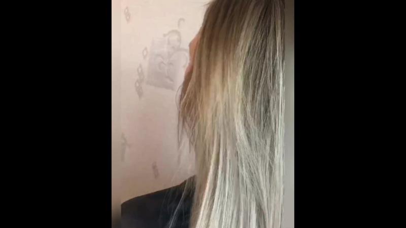 Shatush ( шатуш ) растяжка цвета (Сомбреро) блонд