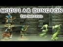 Modular Dungeon – The 3rd Level (Trailer, Kickstarter project powered by TWS)
