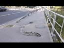 Провалившийся колодец на улице Есенина