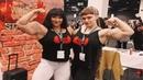 2 Big Biceps Musculer women's physique Natalya Kovalyova Vs Alinapopa