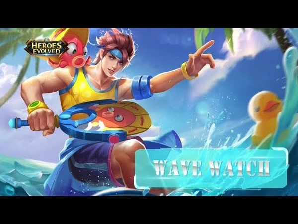 Heroes Evolved: Damacus Summer Skin, WAVE WATCH