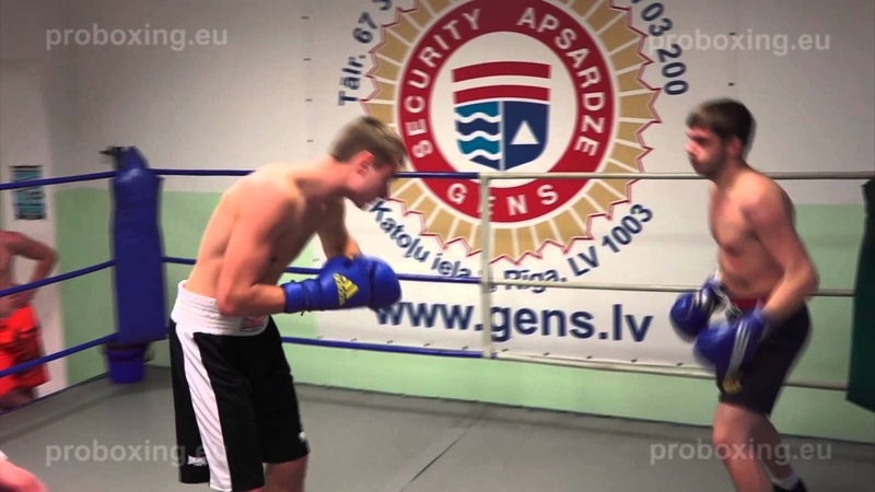 Olegs Asejevs (Rīga) – 67,4 kg. VS Aleksejs Paļčuns (Daugavpils) – 68,2 kg. 10.12.2014 proboxing.eu