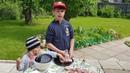 Кулинарное шоу Генерала Булки. Шашлык и печеный картофель.