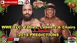 WWE TLC 2018 Elias vs Bobby Lashley Predictions WWE 2K19