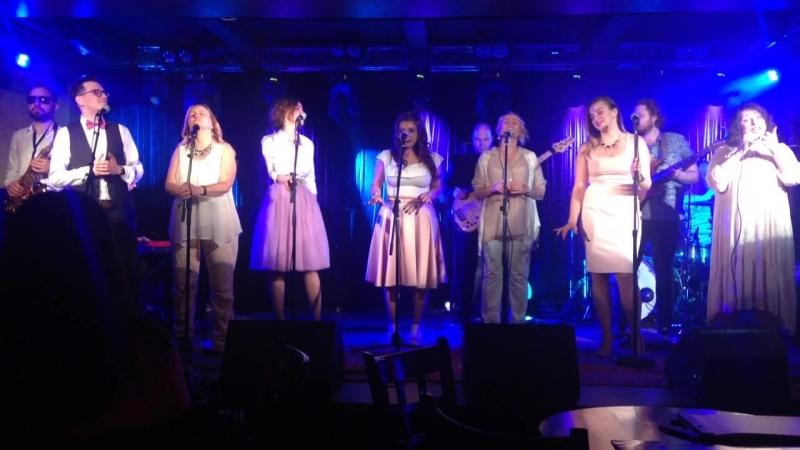 коллектив Moscow Gospel team в джаз-клубе Козлова!