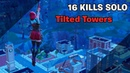 16 kills SOLO Tilted Towers Fortnite Battle Royale /atomr_mf