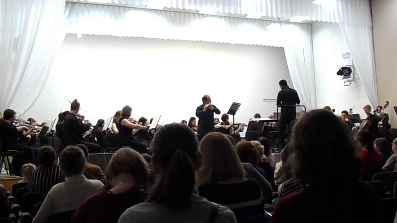 Концерт в Карельской филармонии 15.03.18 Ибер 1 часть