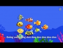 10 Little Fishies _ Baby Shark _ Sing Along with Baby Shark _ Shark 123 _ Kids S