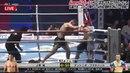 Flying knee KO