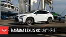 Lexus RX | Hamana Japan | Vossen 24 HF-2 Wheels