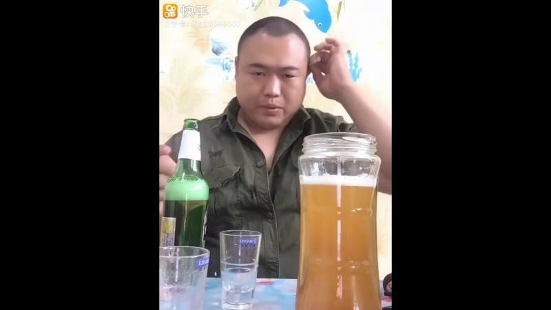 Китаец бухает уровень бог по деталям