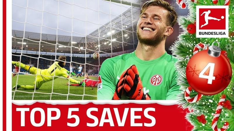 Top 5 Saves - Loris Karius | Bundesliga 2018 Advent Calendar 4