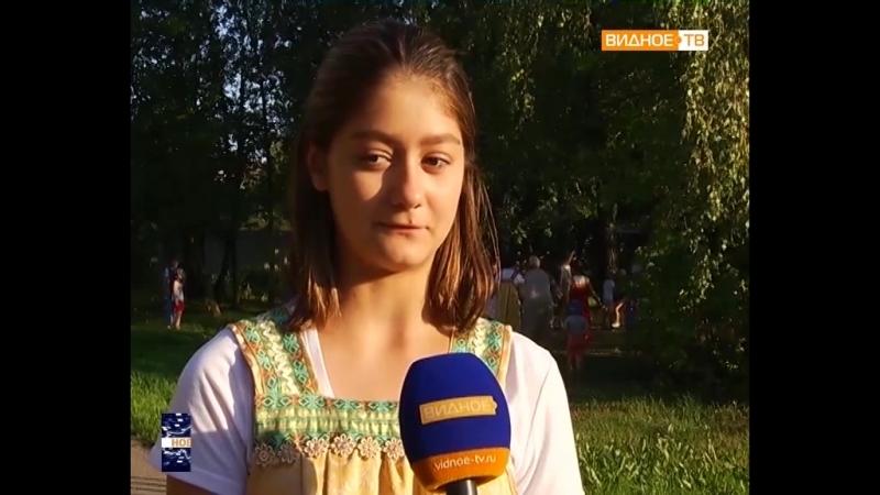 Народные игры - летний досуг детей Мильковской библиотеки