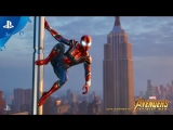 Marvels Spider-Man - Iron Spider Suit Revealed - PS4