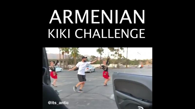 Armenian kiki challenge