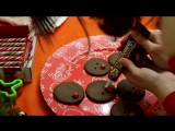 COOCKING: Как приготовить рождественское/Имбирное печенье|How to cook Christmas/Ginger cookie