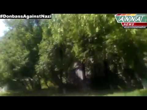 ЛНР Луганск Обстрел Жилых домов! 10 07 2014 LPR Lugansk Shelling of houses