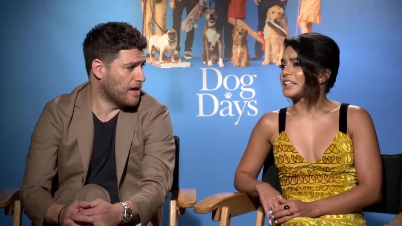 Vanessa Hudgens Adam Pally Are Total Dog Lovers