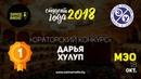 Ораторский конкурс ФМЭО Студент года 2018