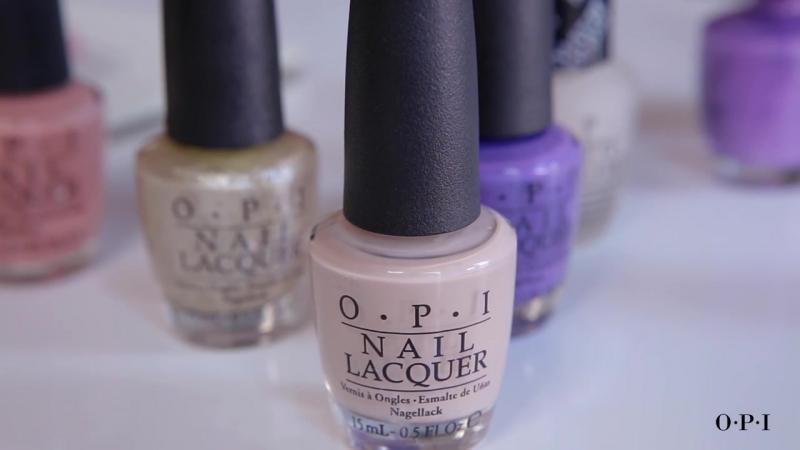 OPI x NYFW- Miss Pop on Nail Art