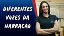 Diferentes Vozes da Narração Brasil Escola