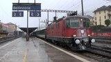2016-02-07 Bellinzona, SBB Re 44 con InterCity e InterRegio