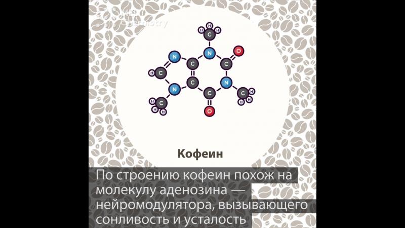 Кофеин бодрящая молекула