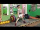 Канафин Нургиз тяга 165 кг 3 по 3.при весе 58.200