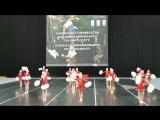 Первенство Московской области по чир спорту в городе Одинцово. Девочки заняли второе место. В феврале они едут на Россию