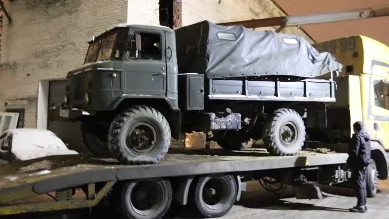СКРЕЩИВАЕМ ГАЗ 66 (ШИШИГА) с Chevrolet CAMARO