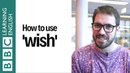 How to use 'wish'