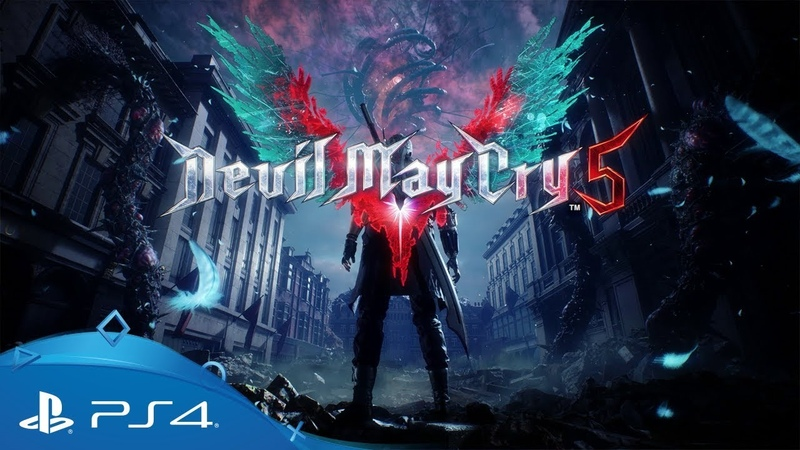 Devil May Cry 5 E3 2018 Announcement Trailer PS4