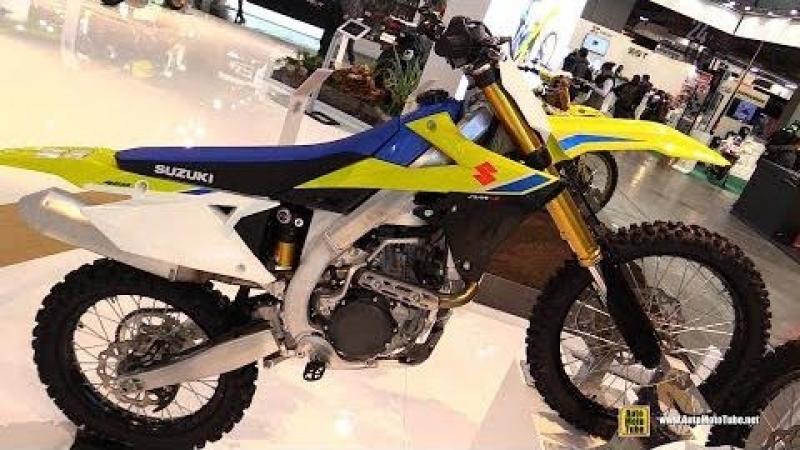2018 Suzuki RMZ 450 - Walkaround - 2017 EICMA Milan Motorcycle Exhibition