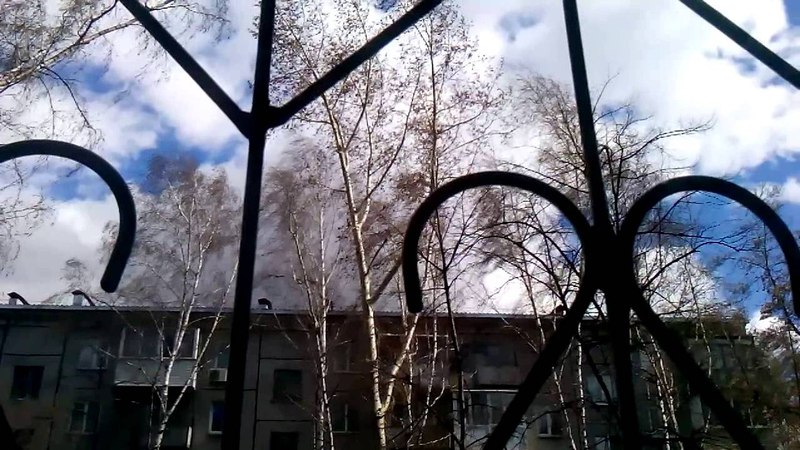Ураган в Новосибирске 27.04.2015 (часть 6 )